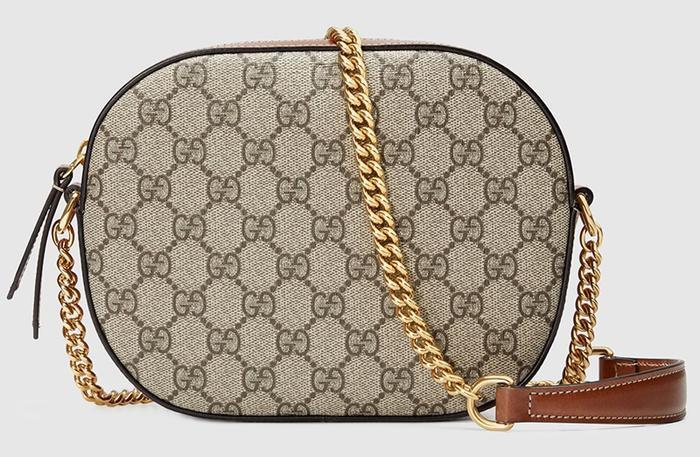 Nhà mốt Gucci sở hữu chất liệu canvas in logo GG