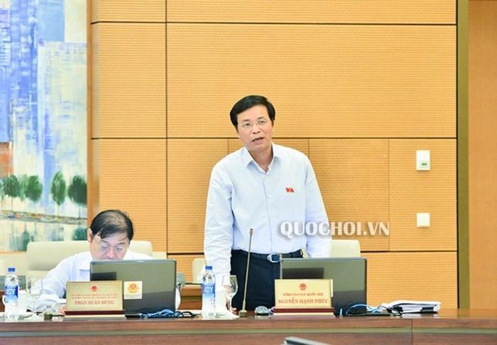 Tổng thư ký QH Nguyễn Hạnh Phúc