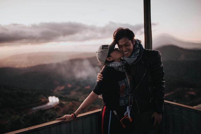 Những hình ảnh thân mật của cả hai trong một chuyến du lịch.