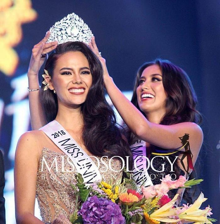 Khoảnh khắc đăng quang Miss Universe Philippines 2018 của Catriona Gray