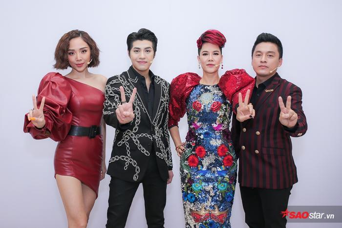 Bán kết Giọng hát Việt 2018: Thu Phương - Tóc Tiên rực sắc đỏ, Lam Trường - Noo Phước Thịnh 'chuẩn' điển trai