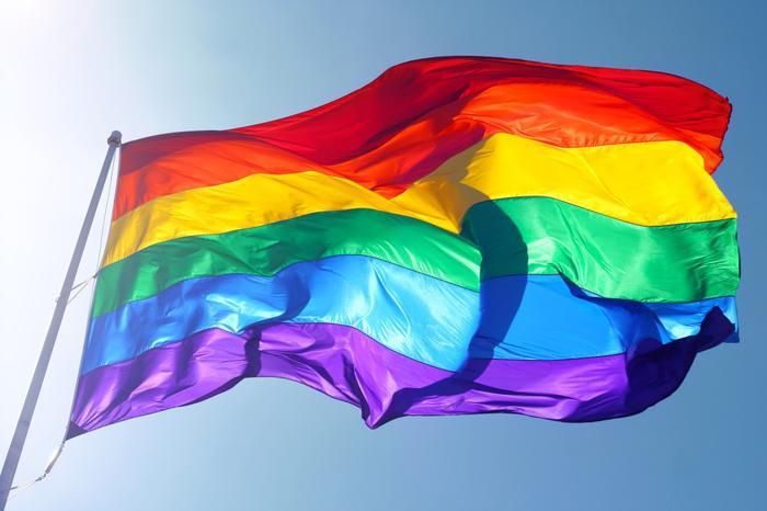 Lá cờ lục sắc đại diện cho cộng đồng LGBT