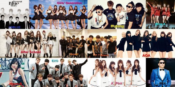 Vô số nhóm nhạc Hàn Quốc mong ước có được thành tích cao trên iChart.