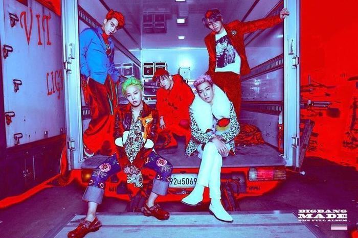 BigBang là nhóm nhạc nam đầu tiên đạt chứng nhận PAK.