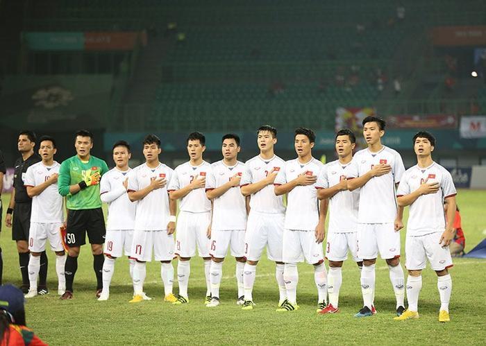 Đội tuyển U23 Việt Nam đã chiến đấu hết sức vì màu cờ sắc áo.