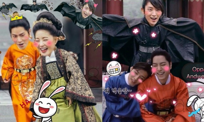 Cười rụng hàm với loạt ảnh ghép lầy lội nhất lịch sử phim Hàn Quốc ảnh 10