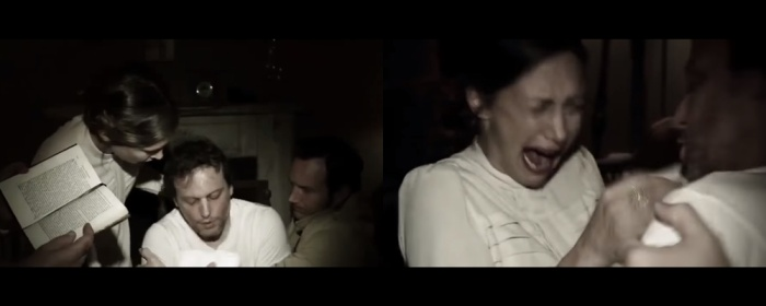Maurice từng xuất hiện trong clip trừ tà của nhà Warren trong The Conjuring.
