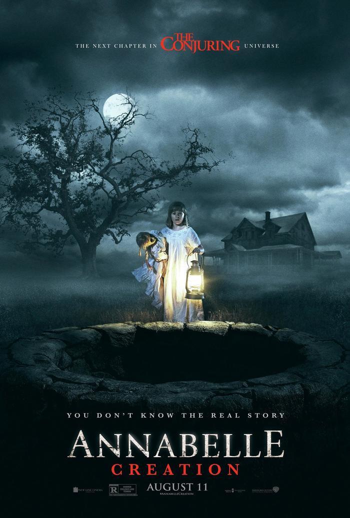 Poster chính thức của Annabelle: Creation.