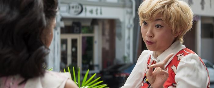 Awkwafina tái xuất cùng vai diễn cô bạn Peik Lin sau thành công của Ocean's 8.
