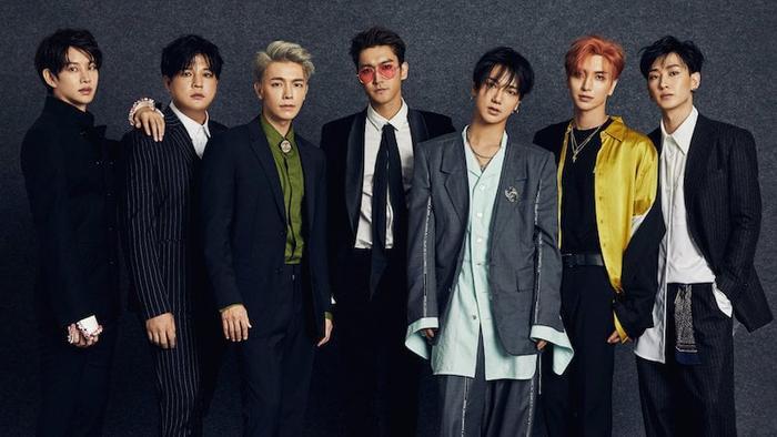 Super Junior vị thứ 4.