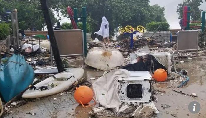 Siêu bão Mangkhut làm tê liệt phía nam Trung Quốc