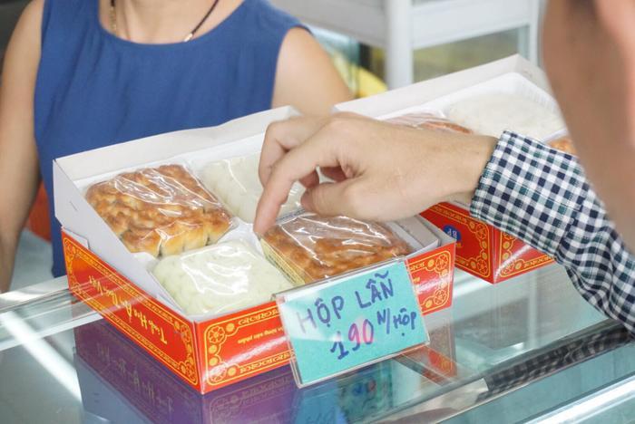 Hình ảnh bánh trung thu Bảo Phương.