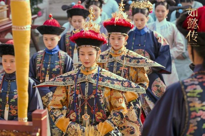 Lễ sách phong Gia Quý nhân thành Gia Tần, Mai Quý nhân thành Mai Tần, A Nhược thành Thận Thường tại.