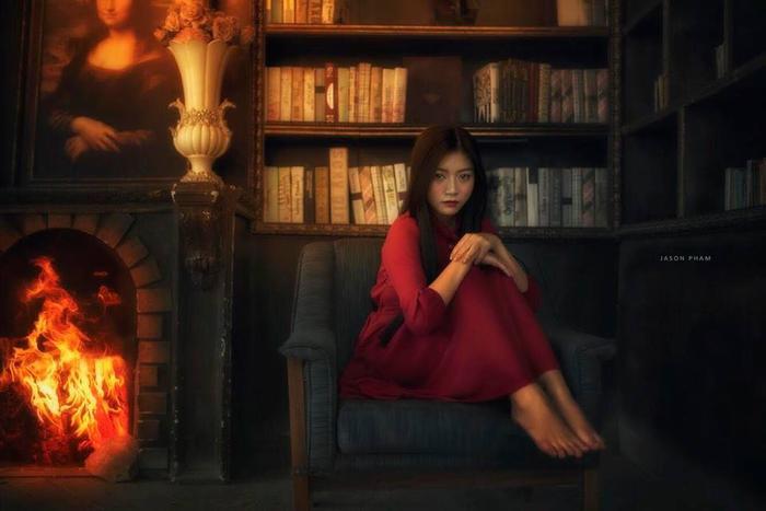 Missteen Nam Phương cực xinh đẹp khi hóa người mộng du đón lễ Halloween sớm ảnh 7