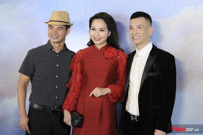 Diễn viên hài Xuân bắc cùng với MC Mỹ Lan