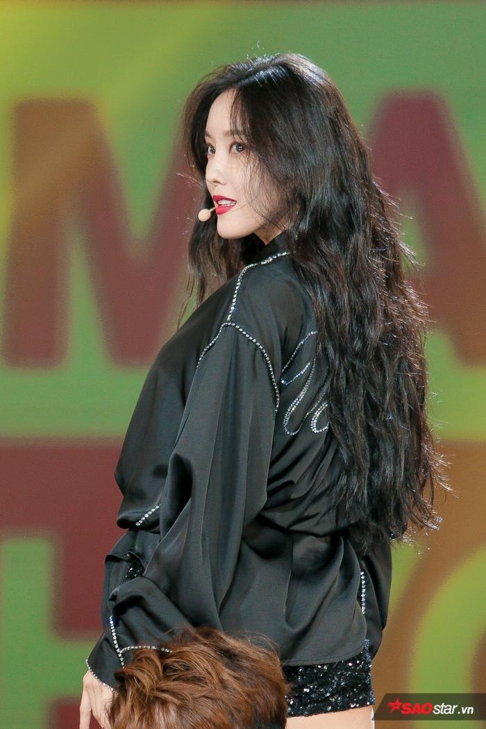 Hyomin đã mang những phần biểu diễn xuất sắc và mãn nhãn đến cho người hâm mộ Việt Nam.
