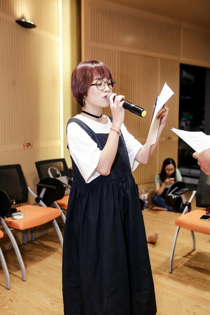 Phần biểu diễn của Gia Nghi và Thái Bình nằm trong tiết mục New face của Làn sóng xanh Next Step.