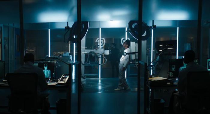 """Phòng thí nghiệm trên cơ thể người, nơi Carlton Drake """"cầm đầu""""."""