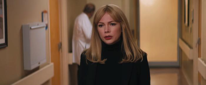 """Michelle Williams vào vai cô bạn gái Anne vô cùng ngầu và """"chất"""" của Eddie."""