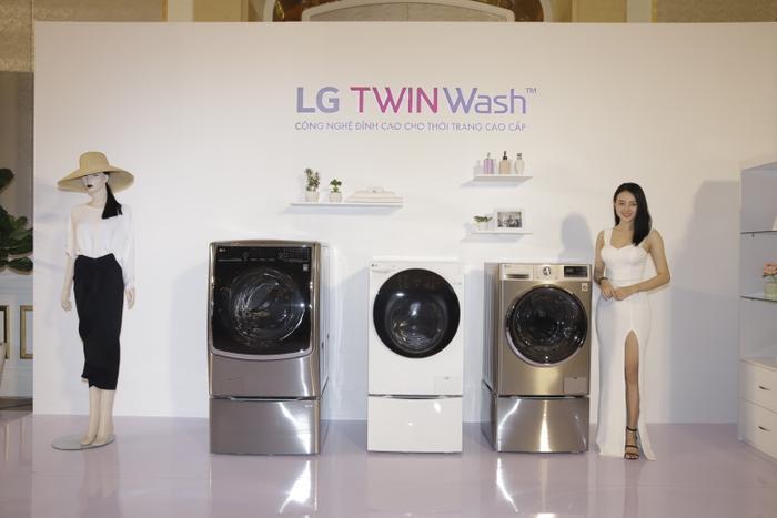 LG giới thiệu máy giặt lồng đôi TWINWash tại Việt Nam: Có thể điều khiển thông qua smartphone! ảnh 0