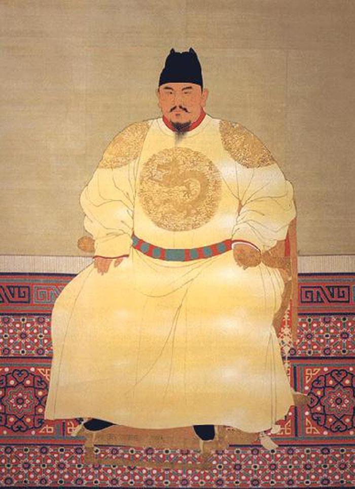 Hoàng đế Chu Nguyên Chương, người khai quốc của vương triều nhà Minh trong lịch sử Trung Hoa.