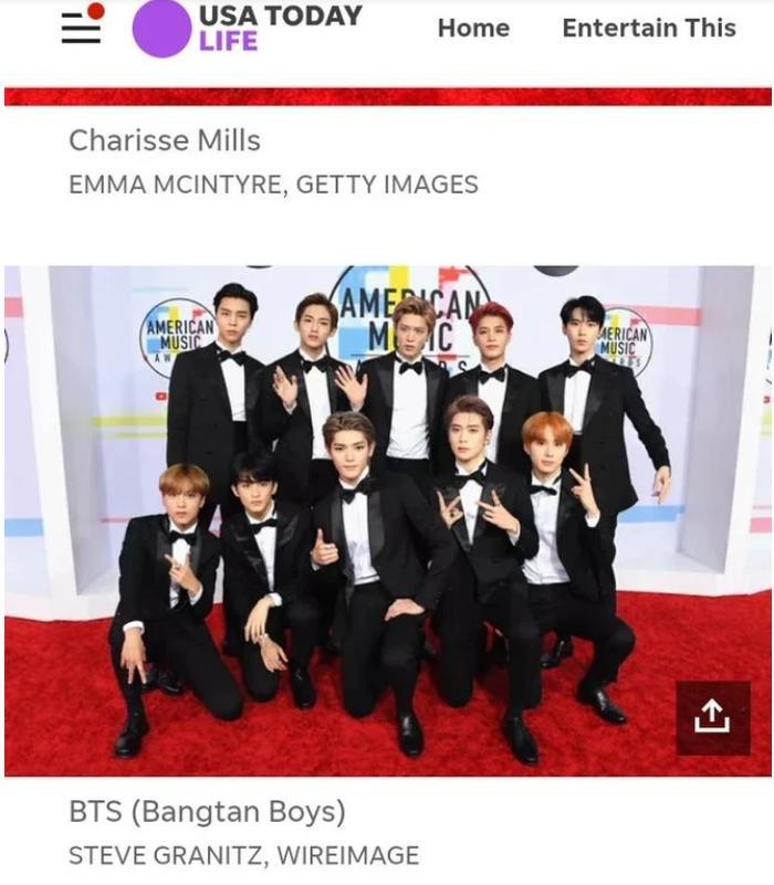 Tờ báo gọi NCT 127 là BTS.