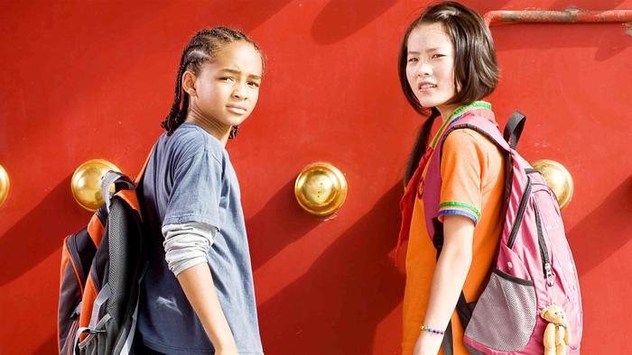 Jaden Smith thời còn nhỏ, nổi danh với vai diễn chính trong phim The Karate Kid.