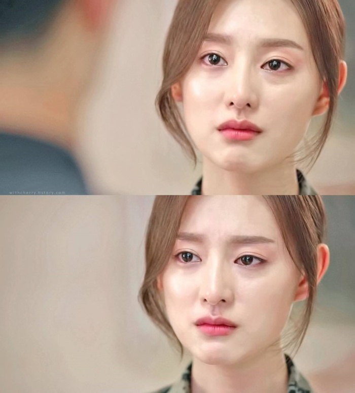 Cảnh khóc của Kim Ji Won được khen ngợi.