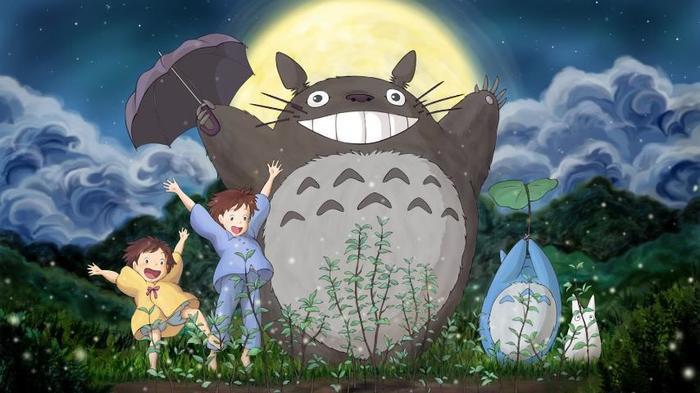 """Không phải tự nhiên mà """"sinh vật lạ"""" Totoro lại được chọn làm biểu tượng của hãng phim Ghibli, điều đó chứng tỏ sức hút của con vật ngộ nghĩnh này là rất lớn."""