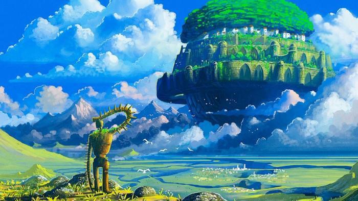 Laputa là một lâu đài vĩ đại và huyền bí trong truyền thuyết.