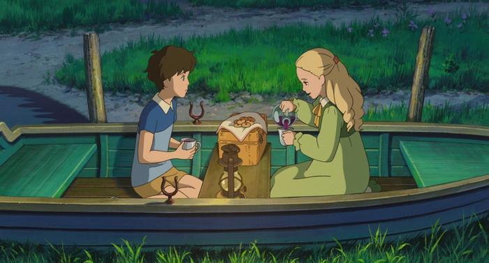 Một tình bạn kì lạ giữa Anna và Marnie!
