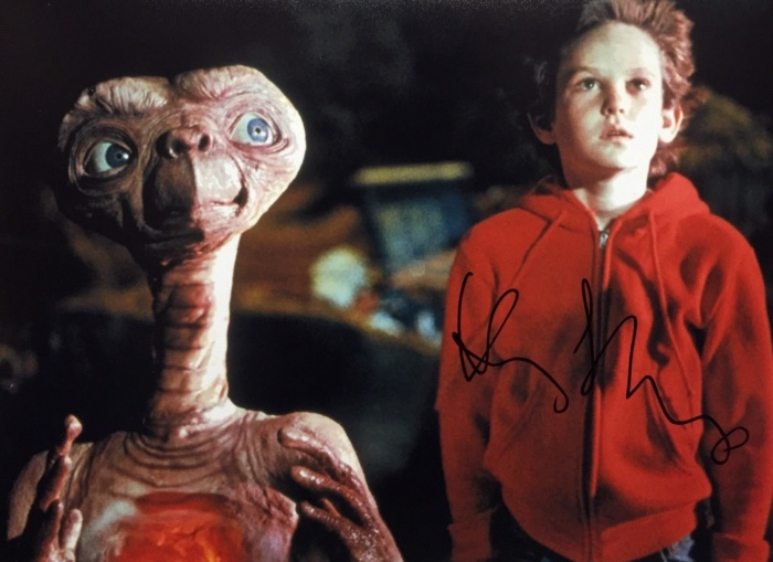 Henry Thomas trong E.T The Extra-Terrestrial.