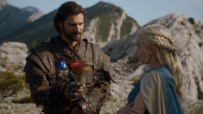 Michiel Huisman trong Game of Thrones.