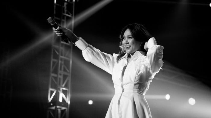 """Truyền thông Hàn Quốc cũng không ngần ngại dành cho Mỹ Tâm danh hiệu Diva Việt Nam trên """"thánh địa"""" Kpop Seoul."""