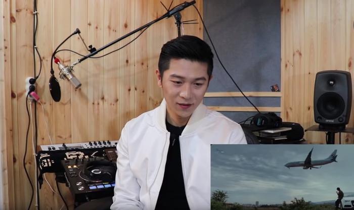 Từ những giai điệu đầu tiên cất lên, nam nhạc sĩ đã khá ấn tượng bởi khung cảnh cũng như thể loại nhạc ballad trong MV.