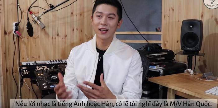 Anh chàng còn cho rằng nếu không phải nghe lời bài hát bằng tiếng Việt thì sẽ nghĩ rằng đây là MV của Hàn Quốc.