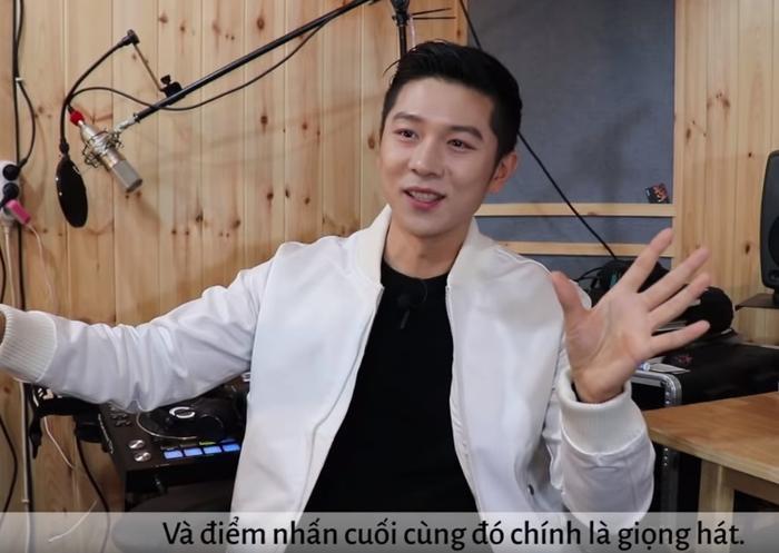 Và trên hai lần anh bày tỏ sự ngưỡng mộ với giọng ca của Noo Phước Thịnh. Bên cạnh đó anh cũng không quên nhận xét diễn xuất của Noo không khác gì một diễn viên chuyên nghiệp.