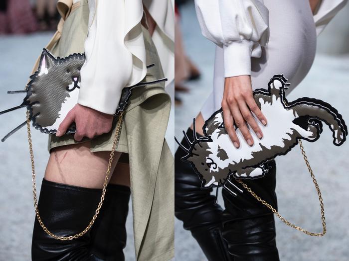 Những chiếc túi xách được Louis Vuitton làm theo đúng hình vẽ của bà Grace Coddington