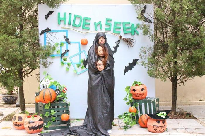 """""""Thần thái"""" hết mình tại Photobooth Hide&Seek Halloween 2016"""
