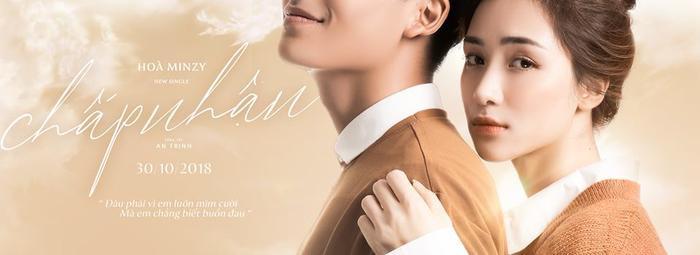 MV Chấp nhận sẽ lên sóng vào ngày 30/10 - trên kênh youtube chính thức của Hòa Minzy.