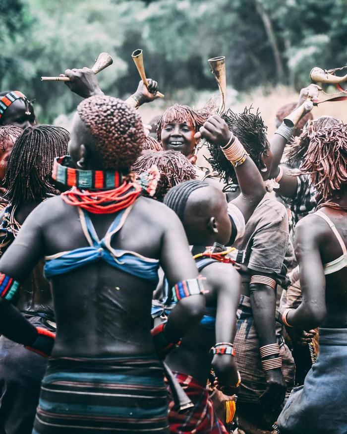 Có khoảng 46.500 người thuộc bộ tộc Hamar đang sống trong Thung lũng Omo ở miền nam Ethiopia.Ảnh: Pongtharin Tanthasindhu