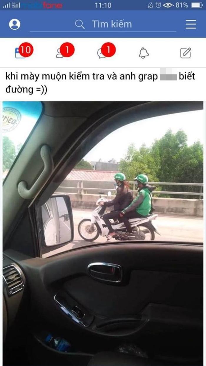 Khi bạn muộn bài kiểm tra nhưng xe ôm lại không biết đường, phải làm sao cho ngầu - Trèo lên xe lái luôn!