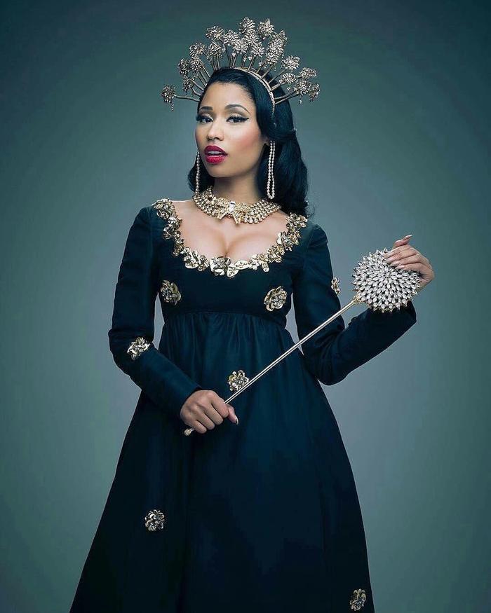 Nữ hoàng nhạc rap thế hệ mới Nicki Minaj.