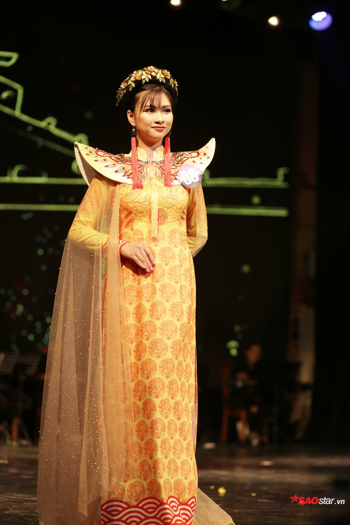 Giải nụ cười đẹp nhất thuộc về thí sinh Nguyễn Thị Phương Thảo