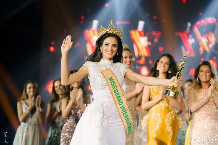 Người chiến thắng tại Miss Grand International 2018 là người đẹp Paraguay - Clara Sosa.