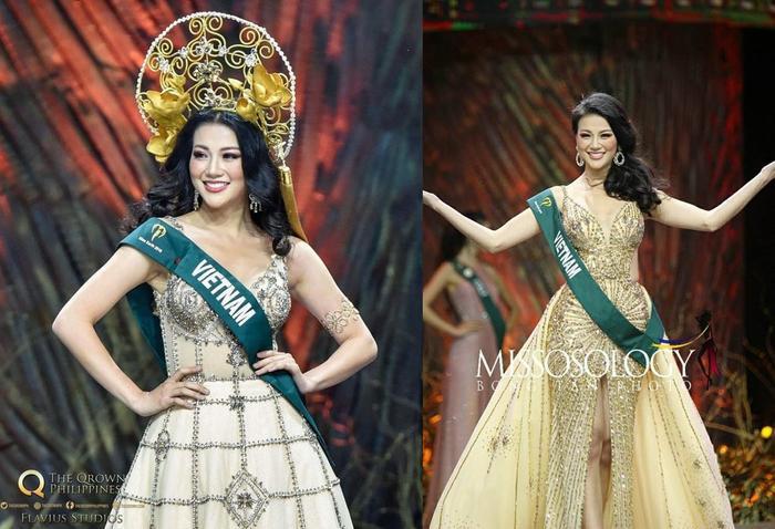 Những thiết kế của Phương Khánh diện tại Chung kết Hoa hậu Trái đất vừa qua nhận được nhiều lời khen ngợi.