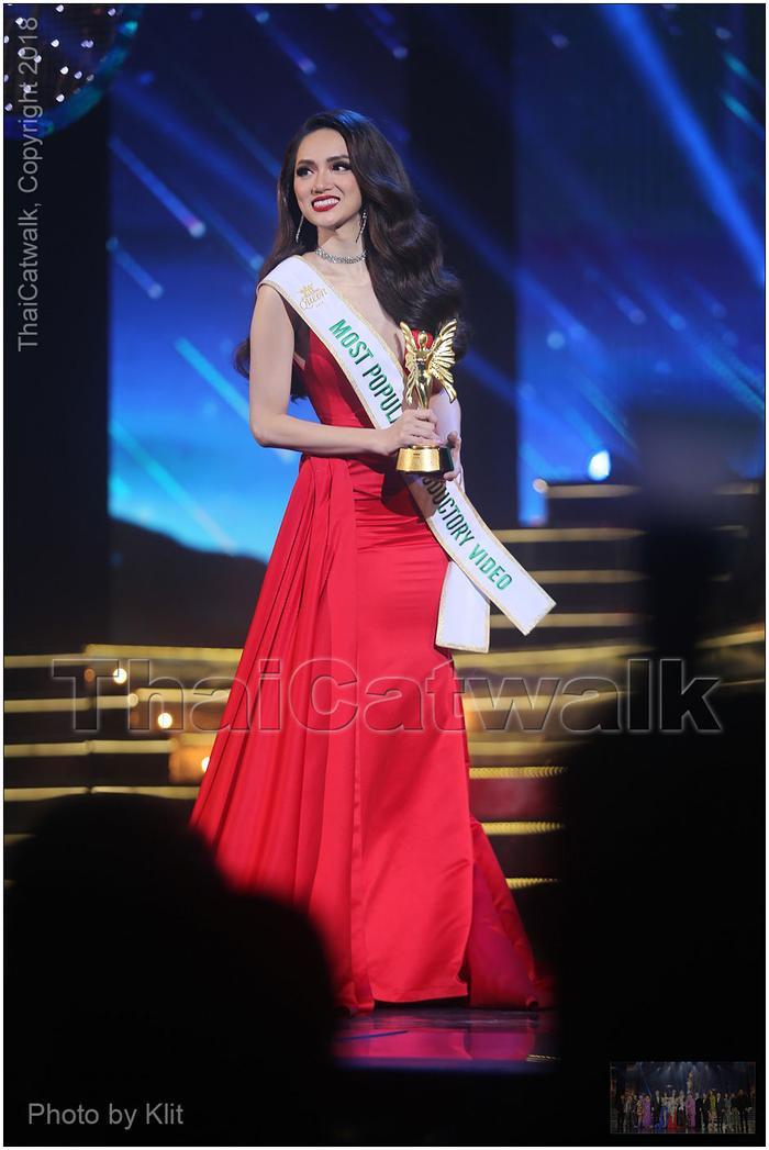 Chiến thắng của Hương Giang tại Miss International Queen 2018…