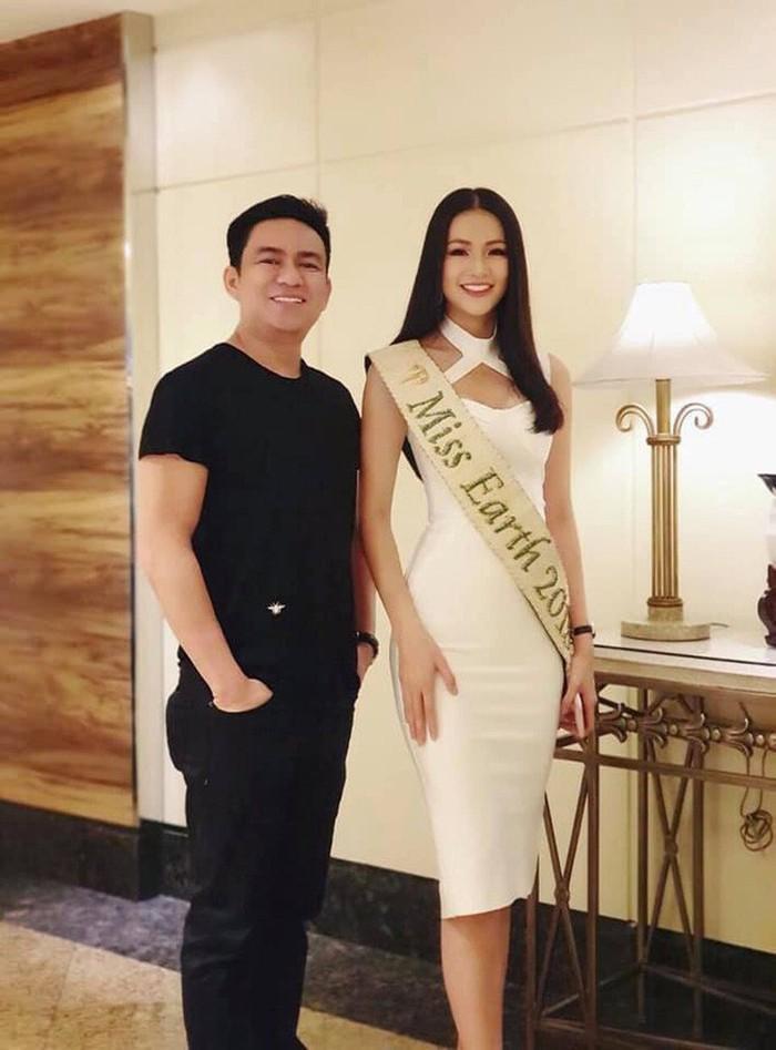 Hoa hậu Phương Khánh bị đồn thổi được bác sĩ Chiêm Quóc Thái phẫu thuật thẩm mỹ.