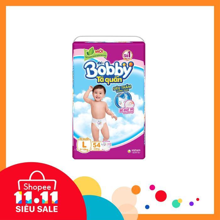 Sale đến dưới 250k: Mẹ bỉm sữa thấy là mua ngay Tã quần siêu thấm Bobby giá chỉ với 249.000đ.