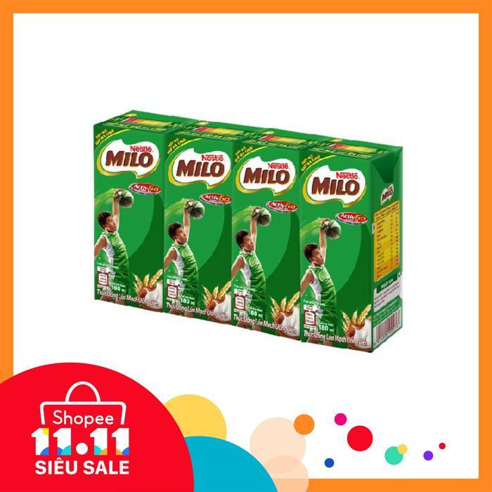 Sale đến dưới 300k: nhanh tay mua ngay 48 hộp sữa Nestle Milo giá sốc chỉ 289.000đ.